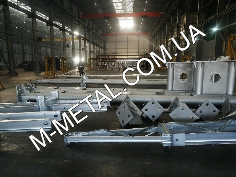 Изготовление металлоконструкций - ЗАВОД M-METAL.COM.UA
